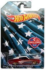 2016 Hot Wheels Stars & Stripes #1 '70 Ford Torino
