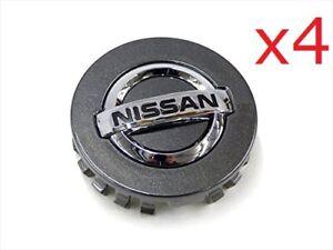 4 x Nissan Xterra Titan Pathfinder 40342-EA210 Hubcap Center Cap COLOR: GREY