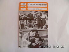 CARTE FICHE CINEMA 1961 LA BALLADE DES SANS ESPOIR Bobby Darin Stella Stevens