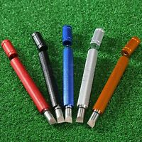 Golf Club Steel Wedge Groove Regrooving Tool Sharpener & Cleaner U V Grooves