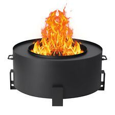 Smokeless Fire Pit Stainless Steel Outdoor Stove Bonfire Wood Burning Firepit