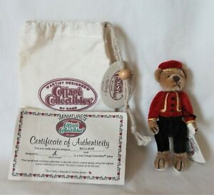"Ganz Artist Designed Cottage Collectibles Miniatures 4"" - ""Bellhop"" -New-Retired"
