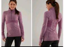 Lululemon RARE Space Dye  Full Tilt Half Zip Pullover Purple Size 6