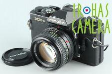 Minolta XD-s + MD Rokkor 50mm F/1.4 Lens #27140 E5