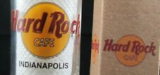 "HARD ROCK CAFE - INDIANAPOLIS  - "" NEW "" 4  inch TALL DOUBLE SHOT GLASS with BOX"