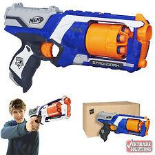 Nerf Guns Strike Elite Strongarm Blaster Kids Pistol Darts Power Gun Barrel Fire