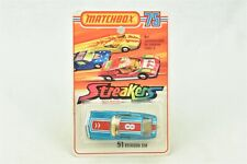 Matchbox Streakers #51 Citroen SM #8 NOC New On Card