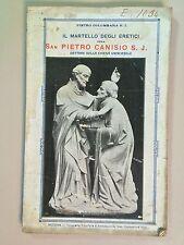 Il martello degli eretici ossia San Pietro Caniso S.J. di Colombara1925