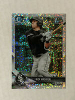 NICK MADRIGAL 2018 Bowman Chrome 1ST BOWMAN SPARKLE SP RC REFRACTOR! WHITE SOX!