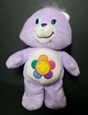 "2004 Care Bears Purple Harmony Bear 7"" Plush Doll"