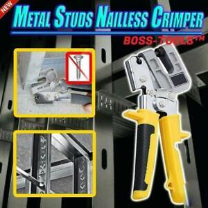 Metallbolzen Nailless Crimper Tool - Kostenloser Versand HOT
