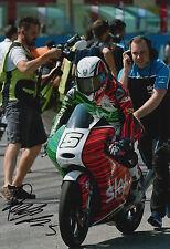 Romano Fenati mano firmato FOTO 12X8 VR46 TEAM KTM MOTO3 2015 5.