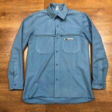 Mountain Equipment Shirt Ultra Fleece Blue Small