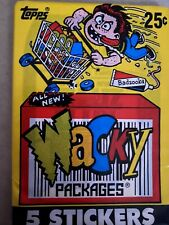 1975 Topps Wacky Single Packages UNOPENED