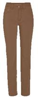MAC JEANS Angela Winter Brown Trousers Pants Womens UK Size EUR 42 UK 16