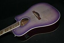 Ibanez Alt30 Pib Altstar Acoustic Electric Cutaway Guitar Purple Iris Burst