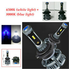 H7 60W LED Car Headlight Bulbs Highlight Fog lamp Devil eye White Blue Light