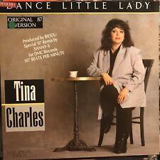 TINA CHARLES • Dance Little Lady (remix) • Vinile 12 Mix • 1987 GLOBAL