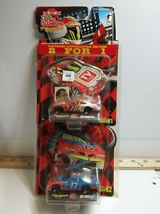1999 Racing Champions 2 For 1 Pack 1:64 Die Cast NASCAR