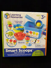 Learning Resources Smart Scoops Math Activity Set NEW! Educational Toy Fast Ship