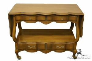 WHITE OF MEBANE Country French Drop Leaf Server / Buffet 530-19