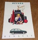 Catalogue publicitaire Renault R21 21 Nevada 1994 brochure prospectus 20 pages