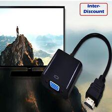 1080P  FULL HD HDMI Mâle vers VGA Femelle Vidéo  Convertisseur Adaptateur 1