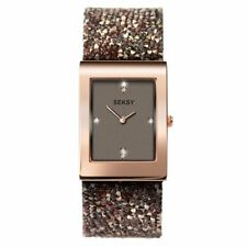 SEKSY Rocks brown rose gold watch Model 2580 BNIB  XMAS  GIFT  TV Ad NEW OFFER