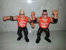 Nasty Boyz chicos Wwe Wwf Lucha Libre Luchador Figura Hasbro Personalizado Tag Team Jakks