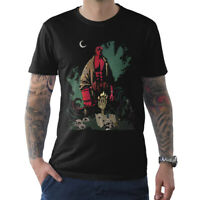 Hellboy Original Art T-Shirt, Premium Cotton Tee