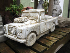Landrover Planter Garden Ornament -  Latex & Fibreglass Mould/Mold (PLANTER4)