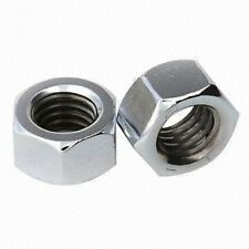 "3/16"" UNF Plain Steel Nuts - Pack of 10"