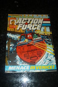 ACTION FORCE - No 47 - Date 23/01/1988 - Marvel Comic