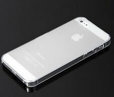 Ultra Thin Slim Matte Clear Snap On Hard Case Cover Skin for Apple iPhone 5 5th