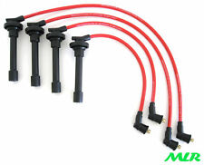 8MM RED SILICONE IGNITION HT LEADS ACCORD TYPE R PRELUDE 2.0 2.2 4WS VTEC MLR.CF