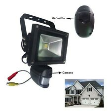 Pir Security Floodlight & Hd Cctv Camera Dvr Video Recorder Motion Detection