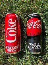 Stranger Things Coke 1985 Coca Cola Zero 16oz Limited Edition Set