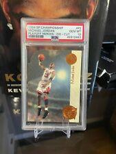 Michael Jordan 1994 SP Championship Playoff Heroes die-cut PSA 10 Chicago Bulls!