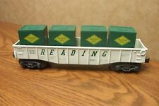 K-LINE CLASSIC GONDOLA with LOAD READING RAILROAD O GAUGE