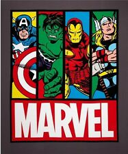 "Springs - Marvel Super Hero Avengers Comic ~ 100% Cotton Fabric 36"" Quilt Panel"