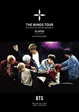 2017 BTS LIVE TRILOGY EPISODE III THE WINGS TOUR KYOCERA DOME Limited Ed DVD