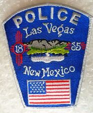 Patch- Las Vegas New Mexico 1835 US Police Patch (New* 120x105 mm)