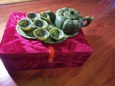 Green Jade Tea Set