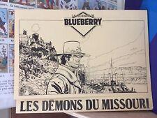 La jeunesse de Blueberry-Les démons du Missouri-Dossier de presse-BD.