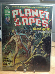 PLANET OF THE APES #8 - VF - CURTIS FANTASY MAGAZINE