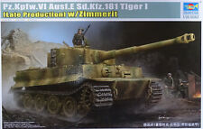 TRUMPETER® 09540 Tiger I Pz.Kpfw.VI Ausf.E Sd.Kfz.181 Late w/Zimmerit in 1:35