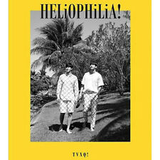 TVXQ-[HELIOPHILIA!] 1 DVD(CD)+304p Photo Book+1p Card+Letter+Poster K-POP Sealed