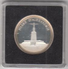 Médaille Française en argent Les 7 Merveilles Du Monde Phare D'Alexandrie