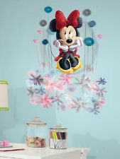 Disney MINNIE MOUSE FLORAL wall sticker MURAL huge decal flower room decor