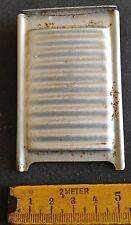 altes Weißblech Waschbrett (Miniatur) für die Puppenküche,Puppenstube,Waschbord